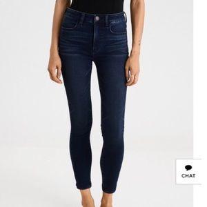 American Eagle X4 Crop Jeans